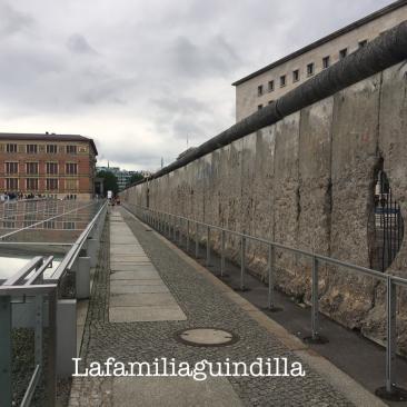 Segunda parte del muro que vimos. Se encuentra donde la Topografía del Terror