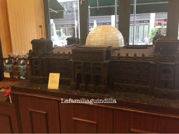 Reichstag Building de Chocolate